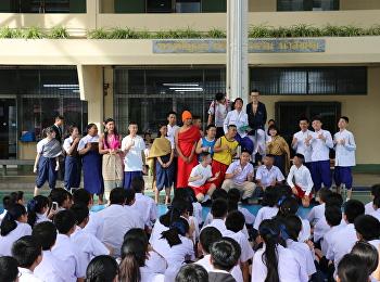 """กลุ่มสาระการเรียนรู้ภาษาไทย แสดงละคร """"วันสุนทรภู่"""""""