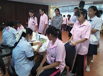 นักเรียนสาธิตฯสวนสุนันทา ตรวจสุขภาพประจำปี 2561