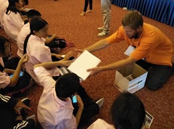 รร.สาธิตจัดโครงการค่ายภาษาอังกฤษ สำหรับนักเรียน ม.1-6 English Program