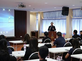 ประชุมบุคลากร ร.ร.สาธิตฯ ก่อนเปิดภาคเรียนที่ 2 ปี 2561