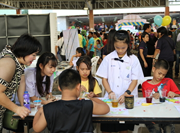 The Demonstration School of Suan Sunandha Rajabhat University joined the 2019 National Childrens' Day at the Public Relations Department.