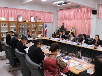 ประชุมคณะกรรมการอำนวยการโรงเรียนสาธิตฯ