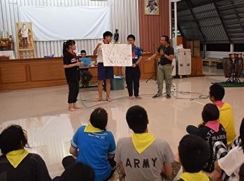 คณะกรรมการนักเรียนปี 2562 ร่วมกิจกรรมค่ายผู้นำนักเรียน