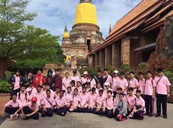 M.2 field trip history of Ayutthaya