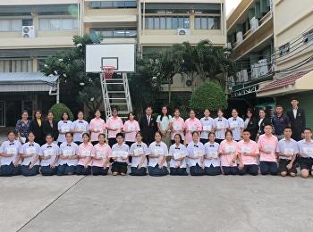 ผู้อำนวยการมอบรางวัลแข่งขันทักษะเนื่องในวันภาษาไทยแห่งชาติ