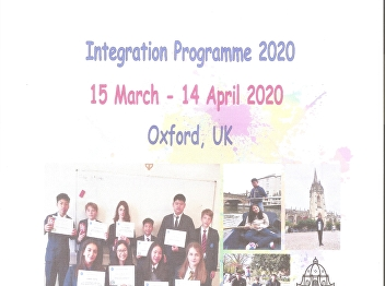 Integration Programme 1 month in England