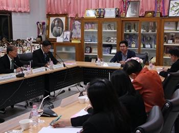 ประชุมคณะกรรมการอำนวยการโรงเรียน