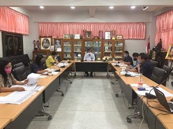 ประชุมประเมินผลปฏิบัติราชการของบุคลากรโรงเรียนสาธิต