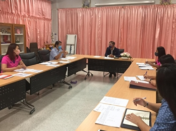 ประชุมสรุปผลการดำเนินการโครงการจัดการเรียนการสอนปรับพื้นฐาน