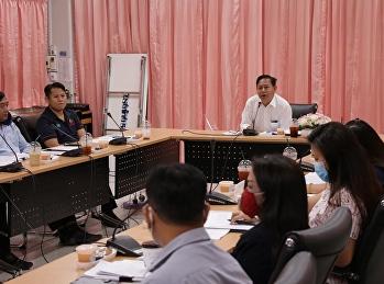 ประชุมผู้บริหารเตรียมความพร้อมในการเปิดภาคเรียนที่ 1 ปีการศึกษา 2563