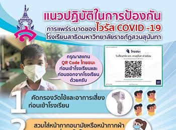 แนวปฏิบัติสำหรับนักเรียนและผู้ปกครองในการมาเรียนและติดต่อโรงเรียน ในช่วงการแพร่ระบาดของไวรัส COVID-19