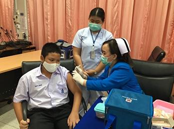 ฉีดวัคซีนป้องกันไข้หวัดใหญ่