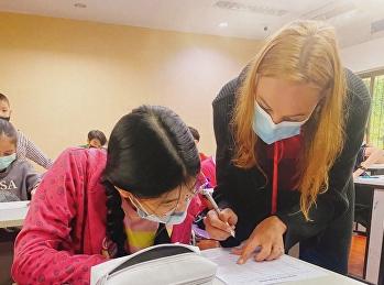 เรียนเสริมพิเศษ Saturday class ของโครงการภาคภาษาอังกฤษ